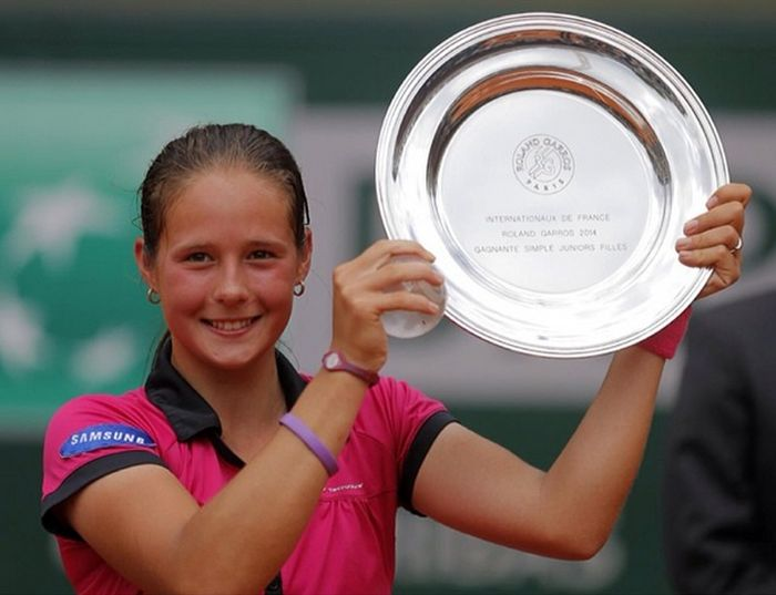 Дарья Касаткина - перспективная российская теннисистка (20 фото)