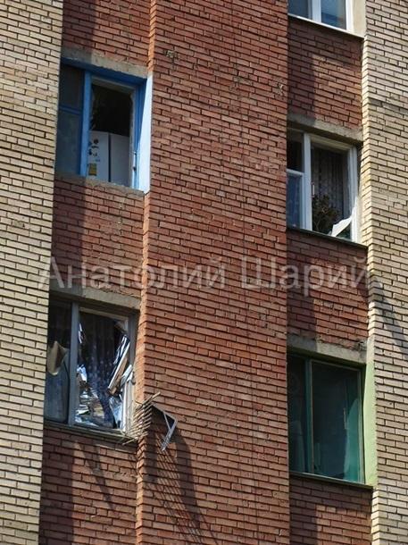 Артиллерийский обстрел Славянска 8 июня 2014 года (10 фото + 4 видео)