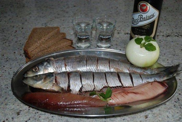 Распространенные виды закуски под водку (15 фото)