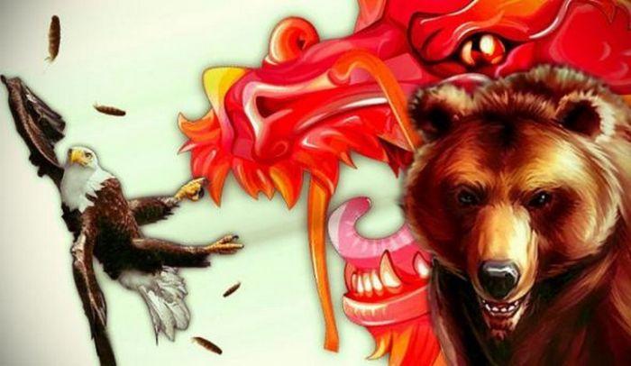 Российско-китайский альянс, как противовес НАТО (4 фото + текст)