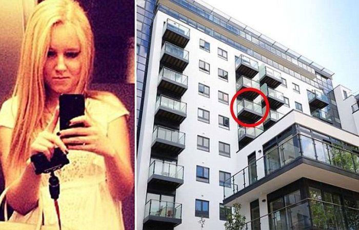 Самая нелепая смерть студентки из России в Лондоне (4 фото)