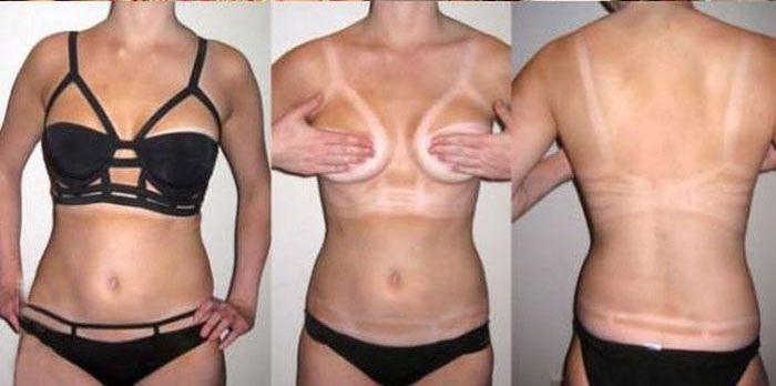 Девушкам лучше не выбирать купальники сложных фасонов (6 фото)
