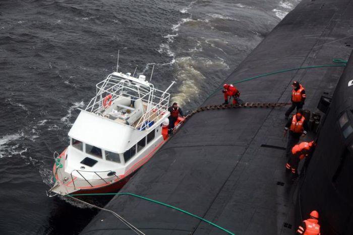 Атомный подводный ракетоносный крейсер