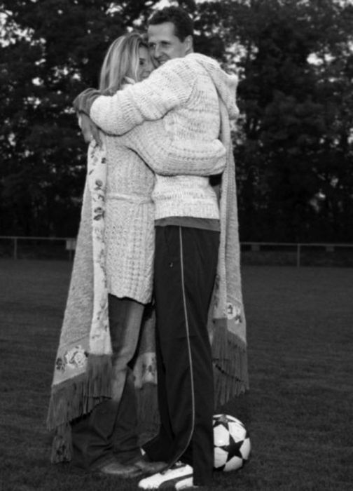 Редкие снимки из семейного альбома Михаэля Шумахера (25 фото)