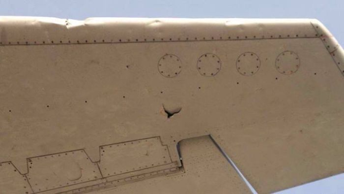 Тестирование двигателей Boeing 737 перед взлетом (10 фото)