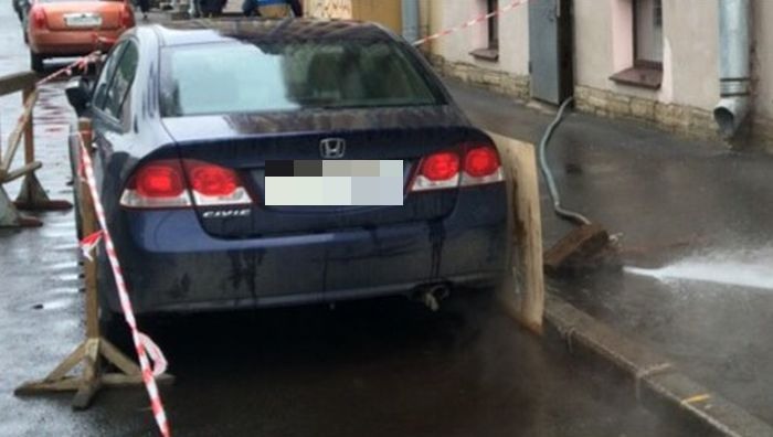 Защита автомобиля от кипятка (3 фото)