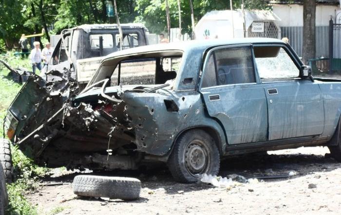Война в Славянске (12 фото)