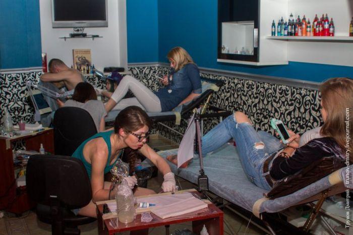 Как наносят на кожу татуировки в профессиональных салонах (29 фото)