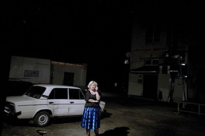 """Как живется населению закрытого города """"Заречный"""" (25 фото)"""