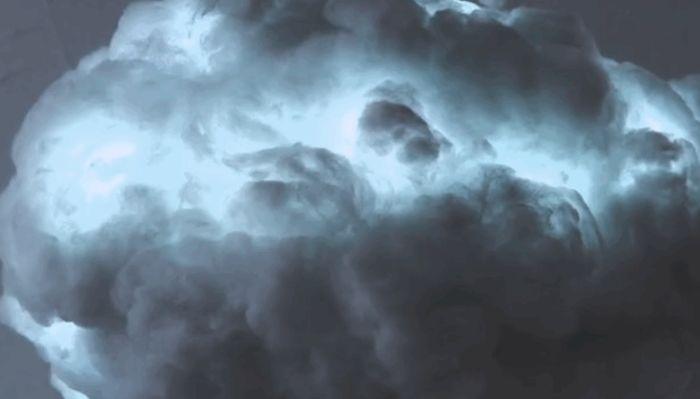 """Домашнее """"грозовое облако"""" (4 фото)"""