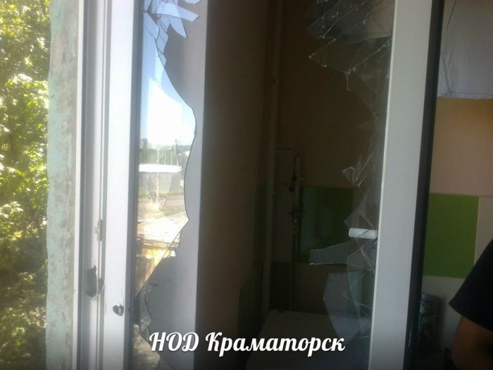 Краматорск по-прежнему под обстрелом (42 фото)