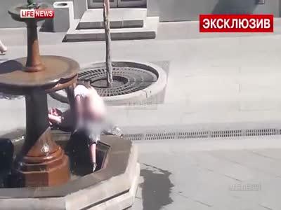 Секс в самаре у фонтана видео