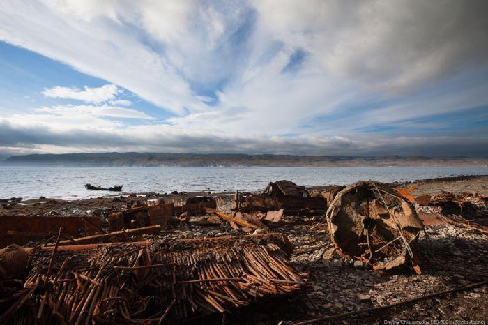 Загадочный полуостров Рыбачий (25 фото)