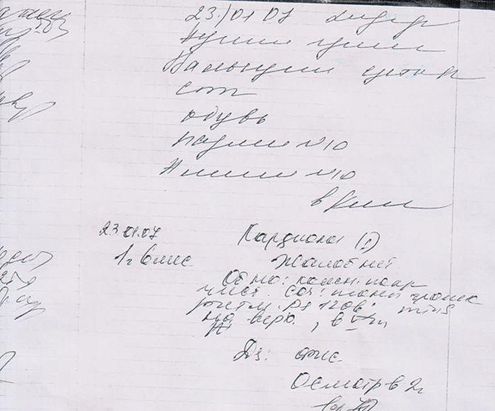 Когда почерк врачей очень сложно разобрать (5 фото)