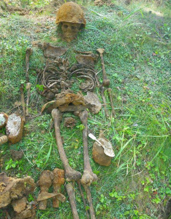 Необычная находка во время раскопок (17 фото)
