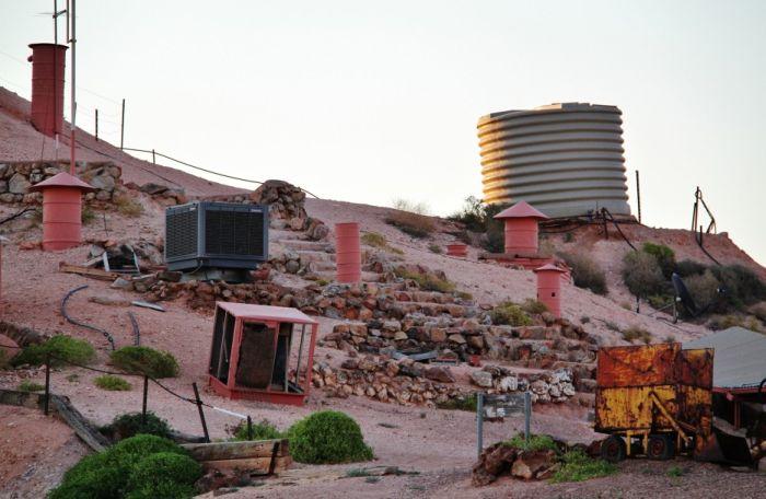 Подземный город в Австралии