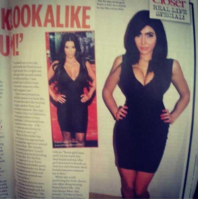 Фанатка-клон Ким Кардашян (17 фото)