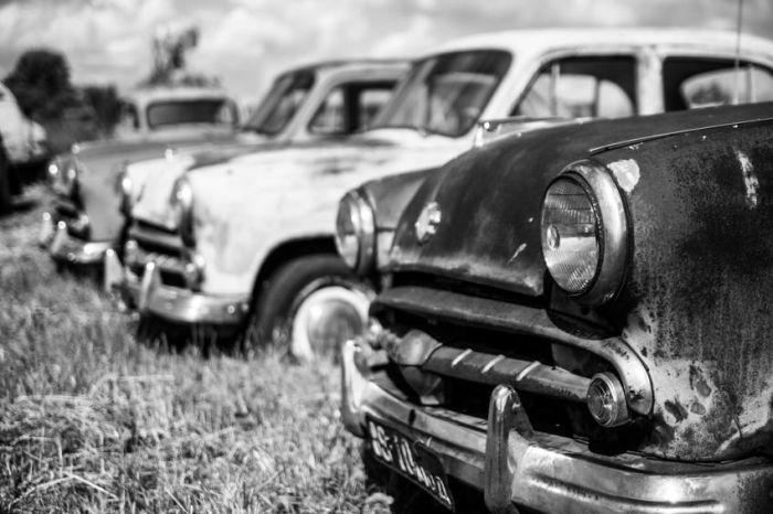 Музей ретро-автомобилей в деревне Черноусово (41 фото)