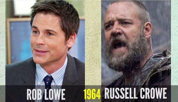 Внешность знаменитостей одного возраста (16 фото)