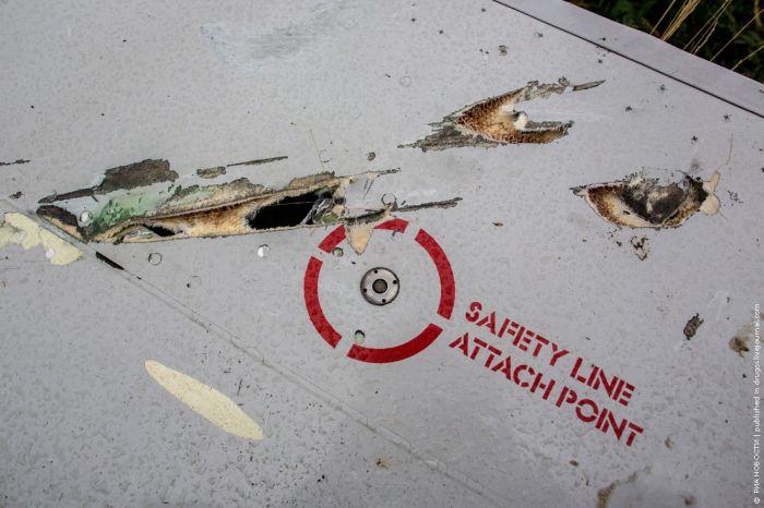 Поиски на месте катастрофы самолета Малайзийских авиалиний (21 фото)