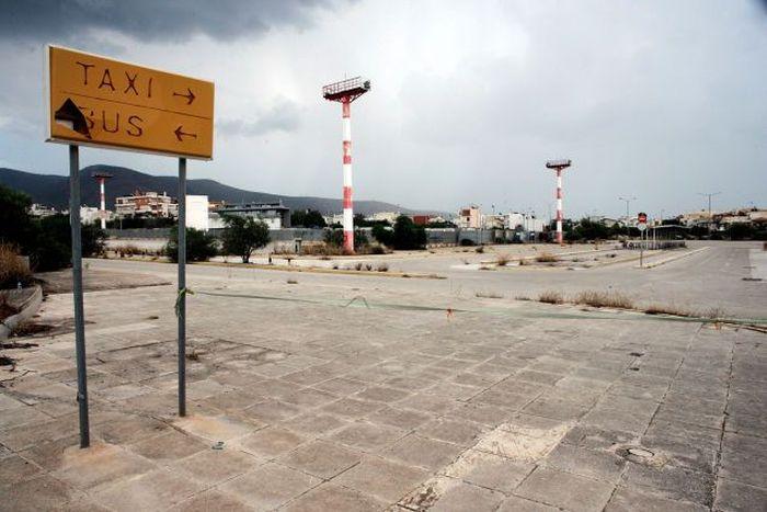 "Заброшенный международный аэропорт ""Эллиникон"" в Афинах (33 фото)"