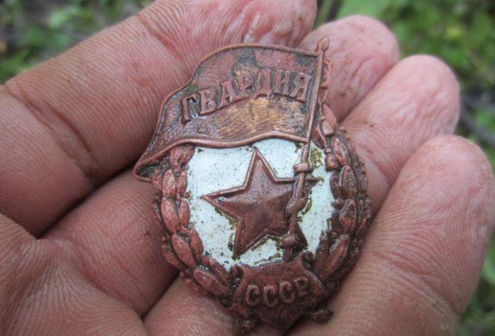 Неизвестное захоронение бойцов Красной Армии (39 фото)