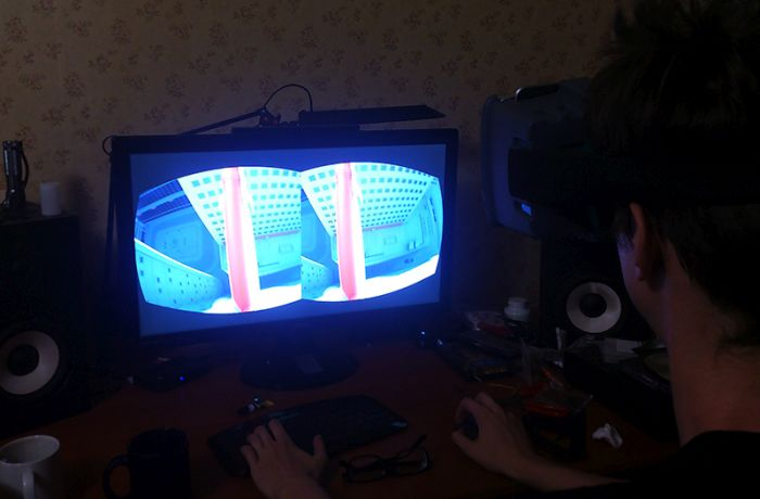 Делаем шлем виртуальной реальности в домашних условиях (11 фото + видео)