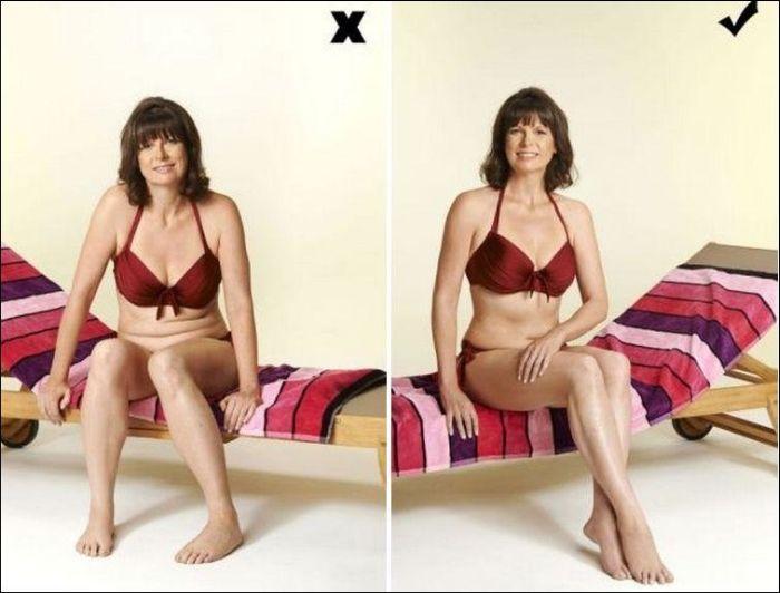 Как правильно фотографироваться женщинам на пляже