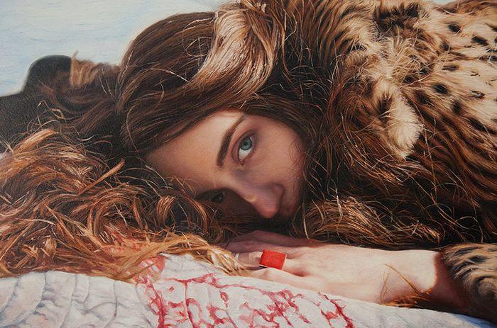 Невероятно реалистичные портреты, написанные маслом (30 фото)
