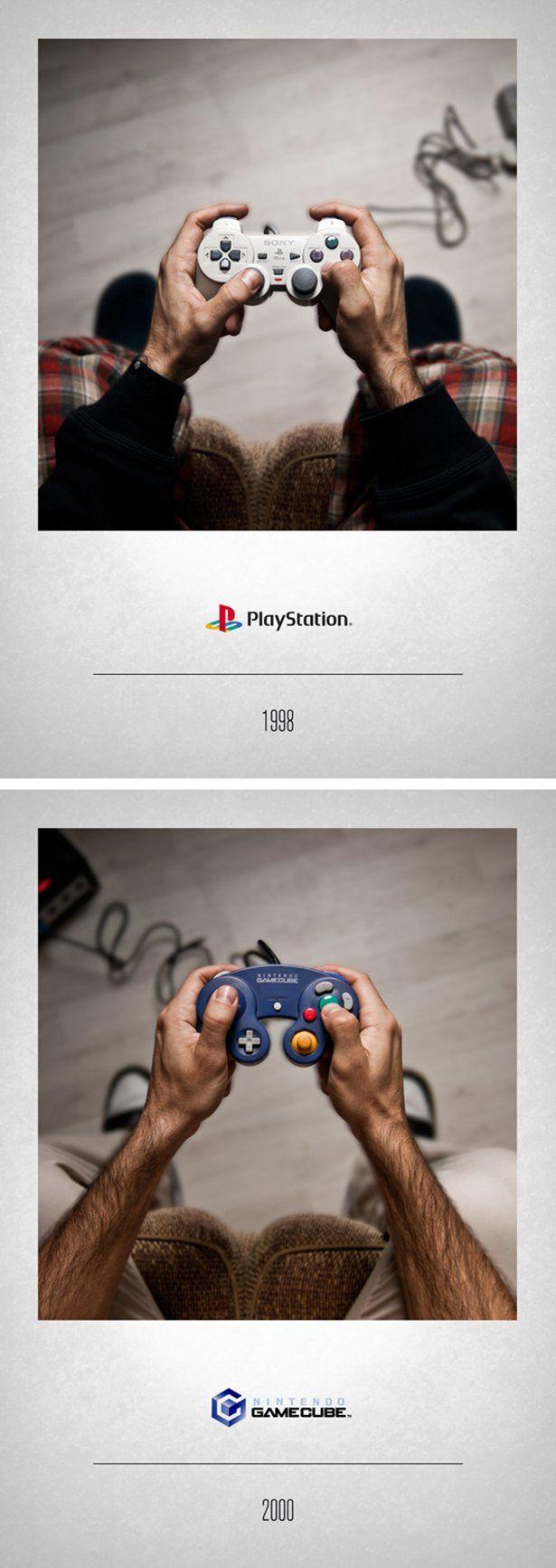 Эволюция джойстиков игровых консолей (11 фото)