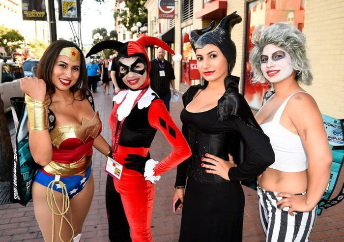 Косплейщики фестиваля Comic Con 2014 (37 фото)