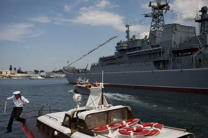 Празднование Дня Военно-Морского Флота в Севастополе (31 фото)