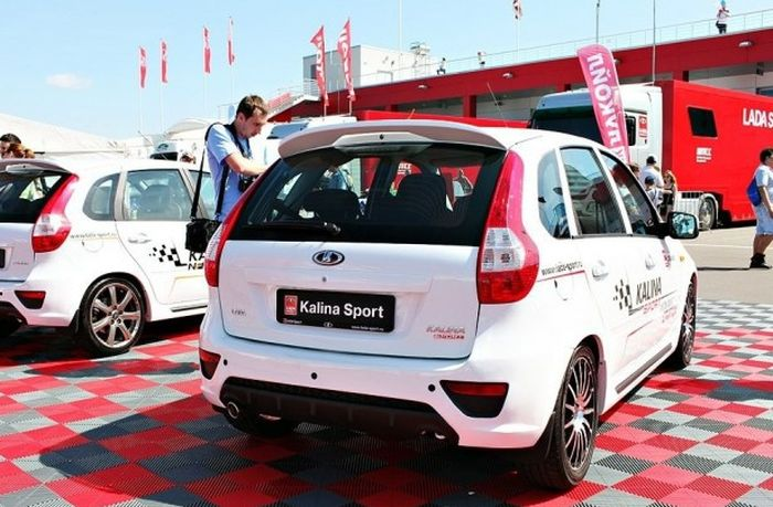LADA Kalina Sport готова к началу продаж (3 фото)