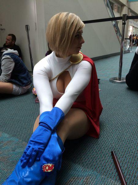 Самая привлекательная девушка Comic Con 2014 (6 фото)