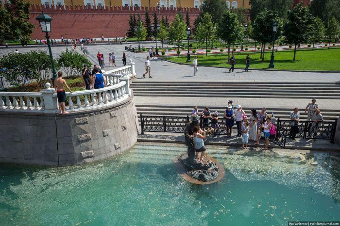 Московская жара (28 фото)