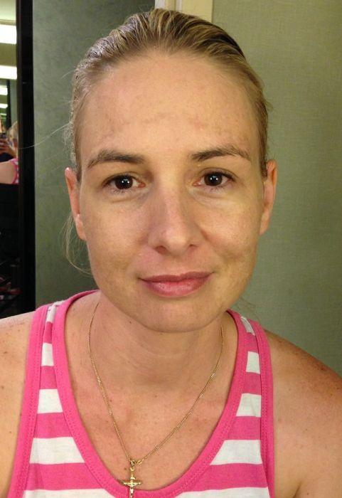 До и после макияжа (52 фото)