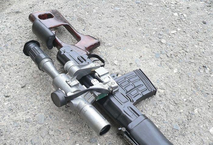 Знаменитая винтовка СВД