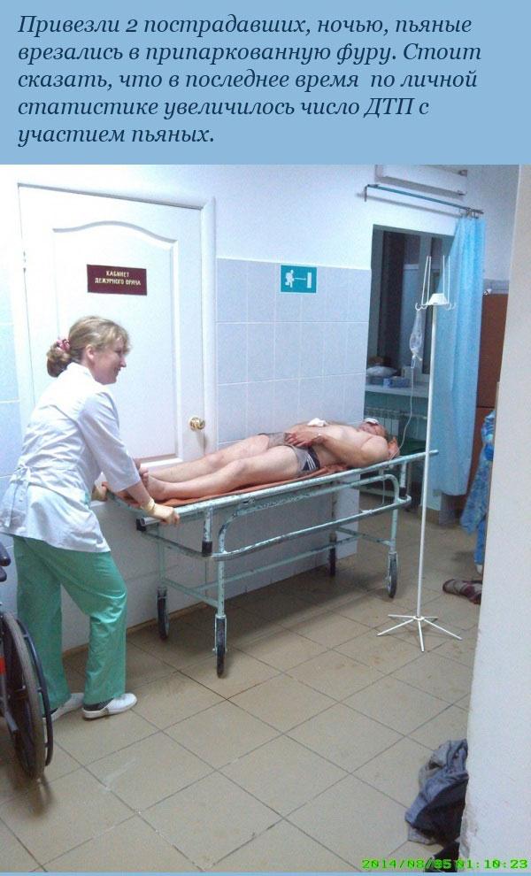 Врач-рентгенолог о пациентах с его ночного дежурства (6 фото)