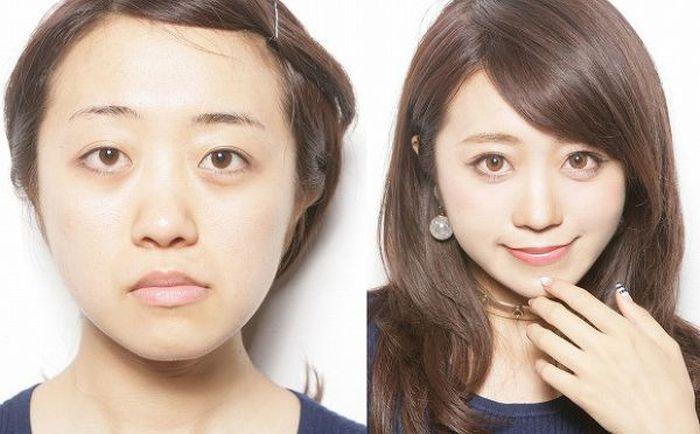 Секрет выразительного взгляда азиатских девушек (6 фото)