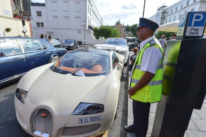 Арабские миллионеры на отдыхе в Лондоне (13 фото)