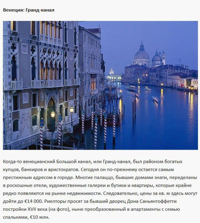 Самые элитные и престижные улицы Европы (10 фото)