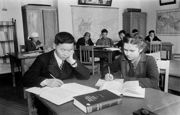 Советские школьники 50-х годов (53 фото)