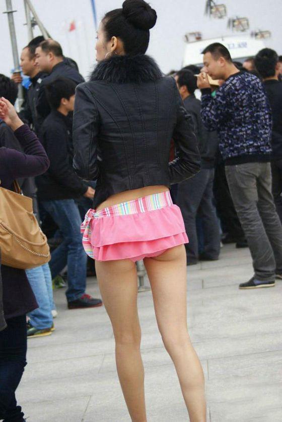 Мини юбки без трусов фото