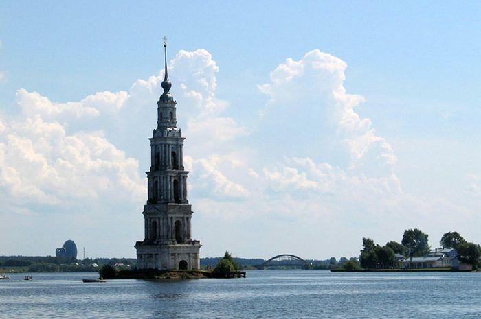 Российские города, оказавшиеся под водой (6 фото)