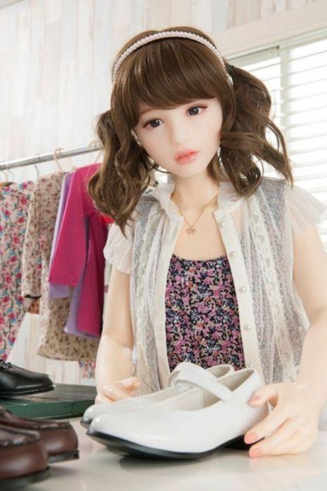 Ультра-реалистичные секс-куклы из Японии (29 фото)