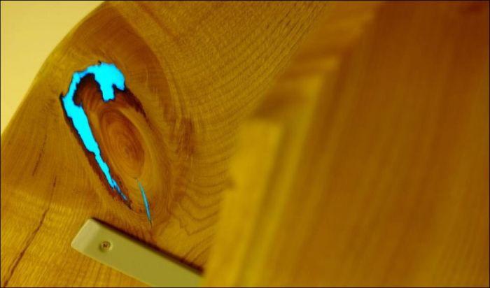 Светящиеся настенные полочки своими руками (17 фото)