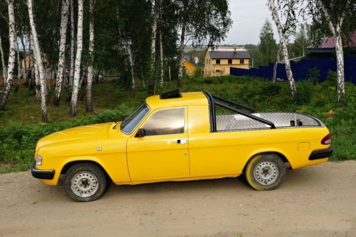 Самые необычные автомобили Сибири (10 фото)