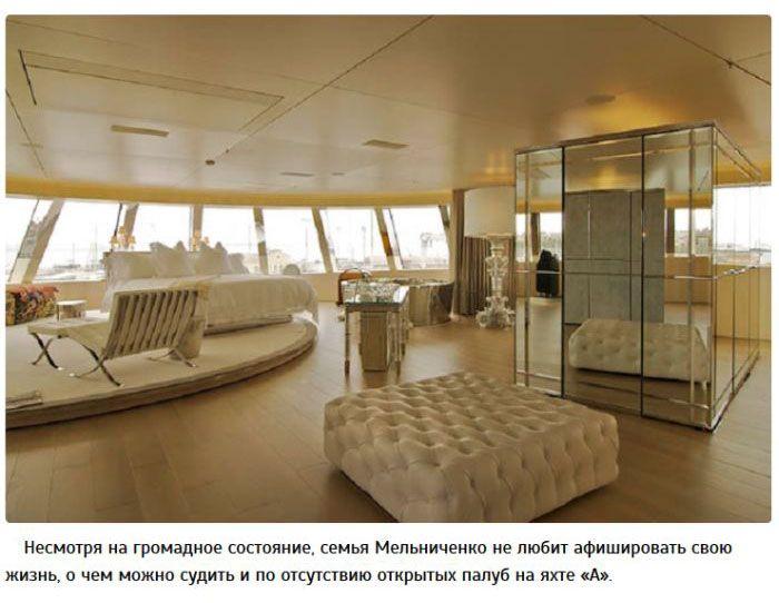 Футуристическая яхта Мельниченко за 300 миллионов долларов (11 фото)