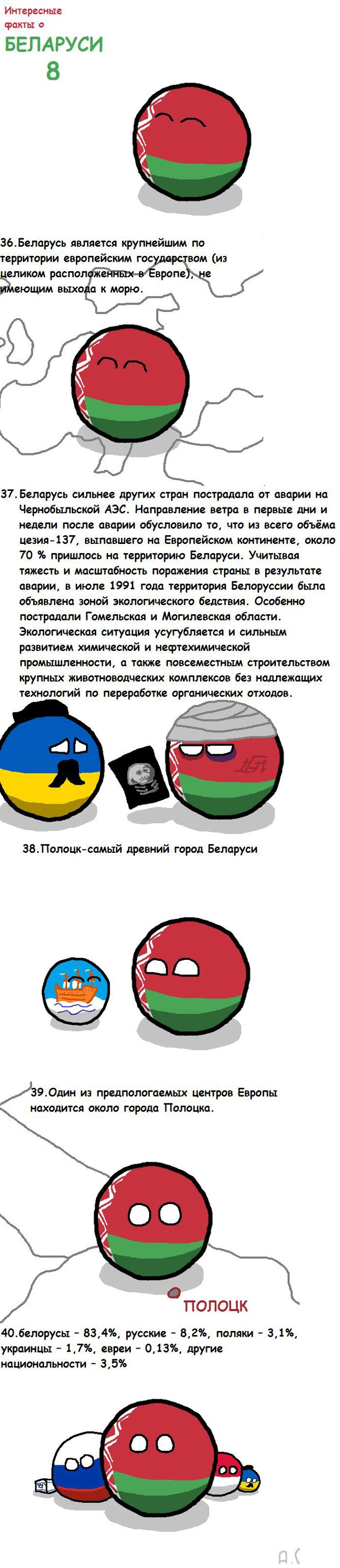 Интересные факты о Белоруссии (8 фото)