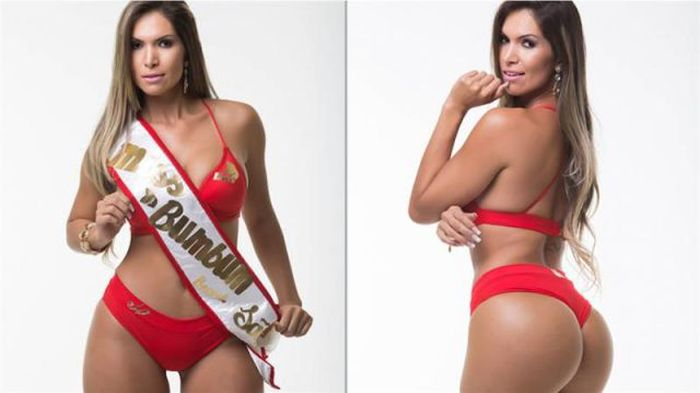 """Участницы конкурса """"Мисс бразильская попа 2014"""" (27 фото)"""